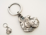 Scruffy Key Ring