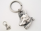 Bandanna Key Ring